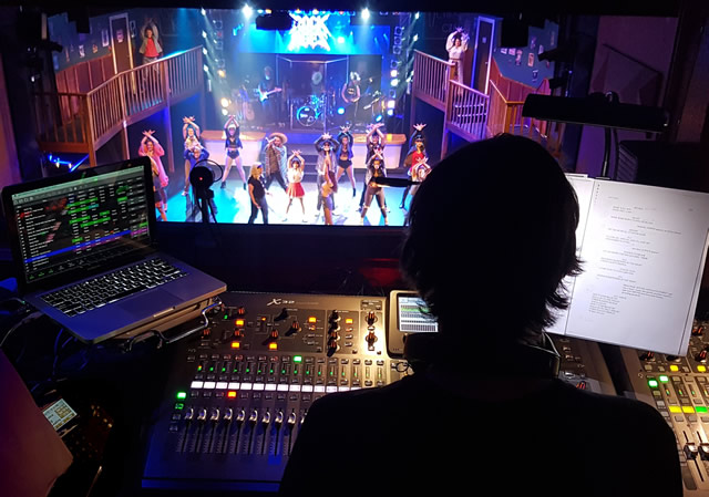Mixing musical theatre
